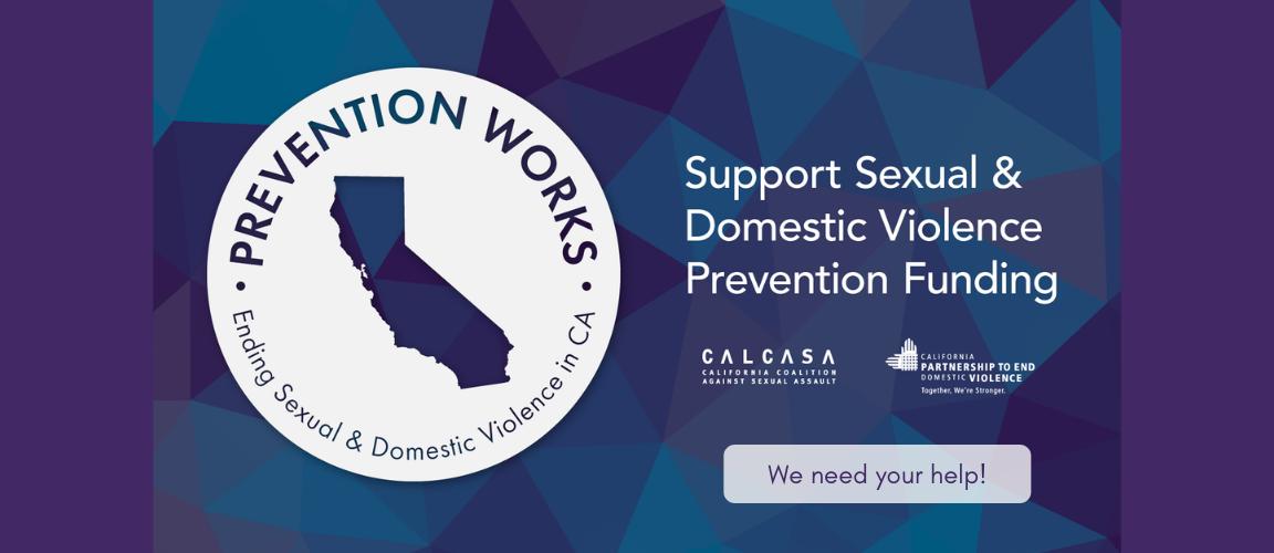Prevention Advocacy Web Slider