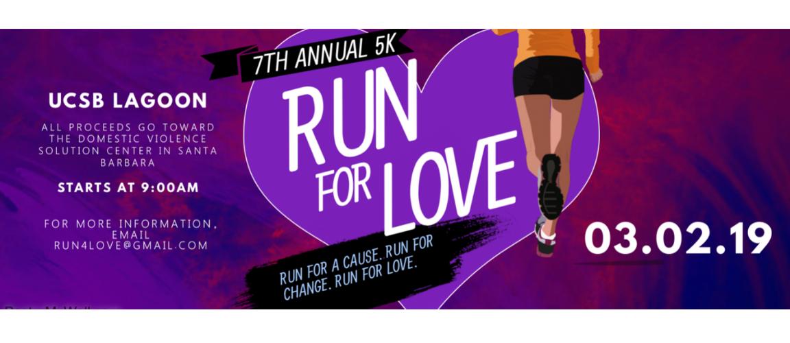 Run for Love Web Slider