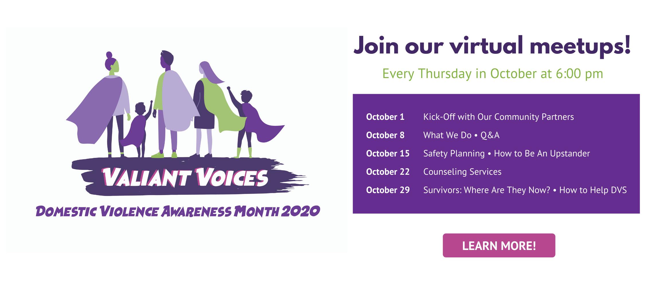 Virtual Voices Web Slider